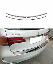 Rear Door Bumper  Cover Trim Protector Fits For Acura MDX 2017 2018 2019 Outside