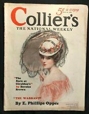 COLLIERS Magazine - April 1926 - ART DECO ILLUSTRATIONS / 1926 Model Wife