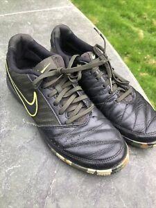 Nike Lunar Gato 2 Black Camo Green 580453-007 Indoor Soccer Sneaker Men 6.5 39