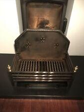 Excellent Quality Large Cast Iron Fire Basket / Dog Grate 57x32cm. 48cm High.