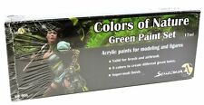 Scale 75 Colors of Nature - Green Paint Set - 38750
