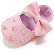 Recién Nacido Bebé Suelas blandas cuero zapatos de cuna antideslizante