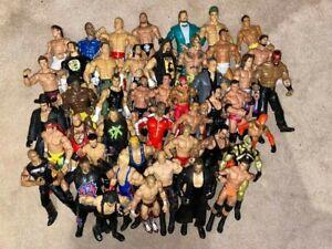 WWE WRESTLING FIGURES  AND BELTS - MATTEL / JAKKS WWF CHOOSE A WRESTLER / BELT