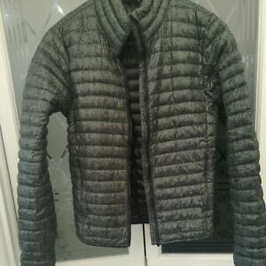 Adidas Varilite Duck Down Lightweight Jacket XS VGC - Green Patterned Faulty