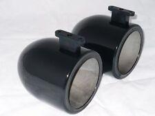 Malibu Illusion X Wakeboard Tower Speaker Cans - Black