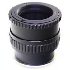 Macro M42 screw lens Zenit to Canon EOS M EOSM mount adapter Focusing Helicoid