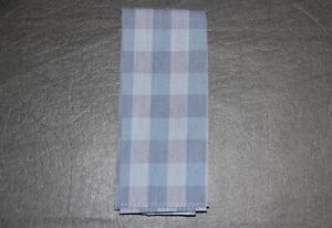 NWOT Alfani Men's Light Blue Checkered Pocket Square