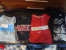 Four Slightly Damaged Nike Shirts! Go Like Hell Born to Compete Freakin' Awesome