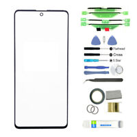 KQ_ Replacement Front Glass Screen Repair Kit for Samsung A51 5G A515/A71/A715 W