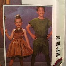 McCalls 6218 Captain Hook Tinkerbell Peter Pan Sewing Pattern Childs Sz 2-4