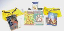 Lot of (7) Vintage Boy & Cub Scouts Handbooks SCARFS Belt Buckles & Fire Starter