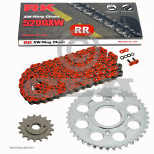 Chain Set Kawasaki Z 750 04-14 Chain RK RR 520 Gxw 112 Red Open 15/43