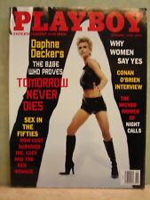 Playboy Magazine February 1998 Daphne Deckers Cover-Combine Shipping