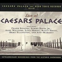 Live at Caesars Palace by Various Artists ~ NEW CD (Sep-2001, Neon Tonic (USA))