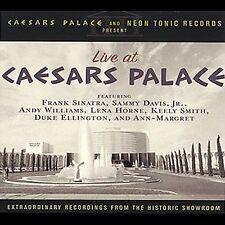 Live at Caesars Palace NEW! CD, FRANK SINATRA,SAMMY DAVIS,ANDY WILLIAMS,CONCERT