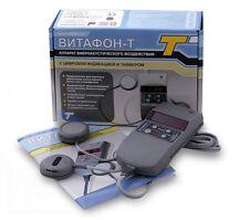 Vibro acousti infrared therapy Medical VITAFON-T brand new ENGLISH Manual 220V