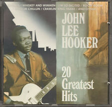JOHN LEE HOOKER 20 Greatest Hits NEW CD Dimples No Shoes Hobo Blues Dusty Road