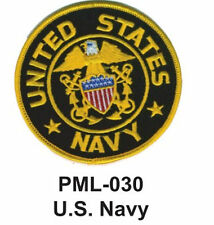 U.S. NAVY Embroidered Military Large Patch, 4""