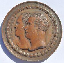 1818 Imperial Russia Prussia Berlin Monument Commemorative Medal Diakov R1