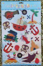 Baby Nursery Children Kid Girl Boy Bedroom Pirate Wall Sticker Decal Stickaround
