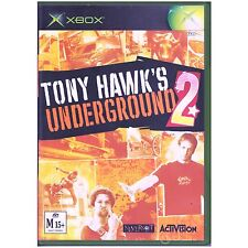XBOX TONY HAWK'S UNDERGROUND 2 MICROSOFT PAL [UVG] HAWKS II YOUR GAMES PAL
