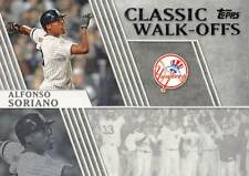 2012 Topps Classic Walk Offs #CW8 Alfonso Soriano > New York Yankees