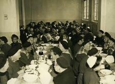 France Nanterre Depot de Mendicite Women Refectory Old Press Photo 1930