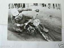 C DON RICKMAN MATCHLESS METISSE MX CROSS EARLY 60'S VINTAGE POSTCARD MOTO 13-05