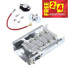4531017 4617547 Dryer Heater Element for Whirlpool/Kenmore With Thermal Cut-Off