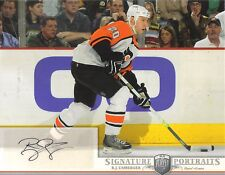 2006-07 BAP PORTRAITS - R.J. UMBERGER  8 X 10  AUTOGRAPHED PHOTO