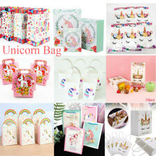 Paper Unicorn Bag Candy Box Treat Gift Loot Bags Christmas Birthday Party Favour