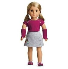 "American Girl FRESH & FUN OUTFIT for 18"" dolls~  new in box SHIRT SKIRT SNEAKERS"