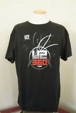 U2 360 Tour Shirt Black T-Shirt Size Xl