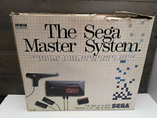 Sega Master System Console W/ Box And 2 Extra Games And Joystick