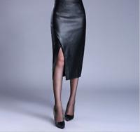 Women's New Sexy Fashion Hip Skirt High Waist Split Formal Dress Slim Work Size