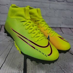 Nike Size 6Y/Men's 6 Superfly 7 Academy MDS Turf Indoor Soccer Shoes BQ5407-703