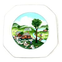 """Mikasa Songs of the Four Seasons Dinner Plate 10.5"""" AH Summer Replacement"""