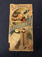 1888 H.H. Warner Artist's Album- Rare Medical Ad Print