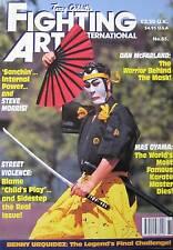 FIGHTING ARTS INTERNATIONAL MAS OYAMA DAN MCFARLAND KARATE KUNG FU MARTIAL ARTS