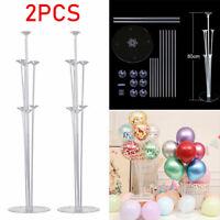 2 Stück Ballon Ständer Kit Luftballons Ständer Halter Deko für Hochzeit Party