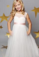 Girls Kid Princess Dresses Party Wedding Bridesmaid Flower Girl Dress Graduation