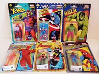 Marvel Legends Retro Collection Wave 1 Set of 6 3.75 inch Action Figures Kenner