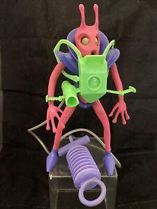 Vintage 1969 Mattel Major Matt Mason Scorpio Outer Space Men Colorforms Alien