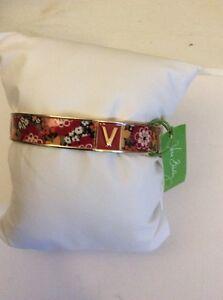 Vera Bradley Vera Bangle, Red Bracelet, One Bangle, Bittersweet $45