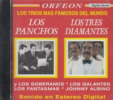 Los Panchos Los Tres Diamantes Mas Famosos Del Mundo CD New Sealed
