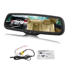 "4.3"" inch TFT LCD Car Rear View Mirror Monitor For Reversing Camera Kit DVD VCR"