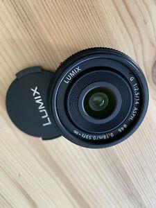 Panasonic Lumix G 14mm f/2.5 Aspherical AF Lens