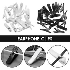 20pcs Plastic Earphone Cable Wire Cord Clip Nip Clamp Organization Holder Collar