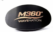 M360Wavenation Medium Hard 360 Wave Brush - Reinforced Nylon and Boar Bristle