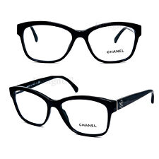 b06eb4ce051f CHANEL 3255 c.501 Black 52 16 140 Eyeglasses Rx Made Italy -